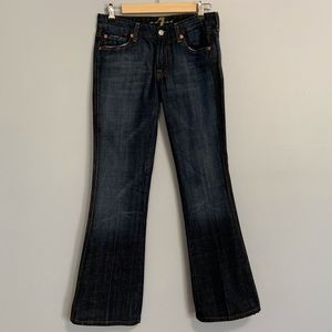 7 For All Mankind 'A' Flare Jean 28